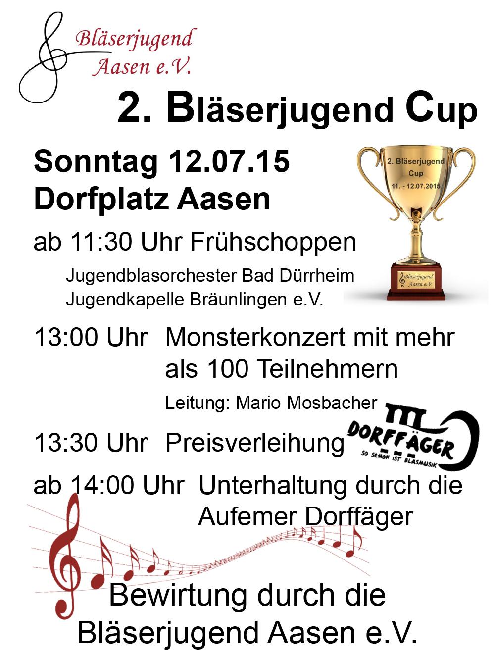 2. BJ Cup Plakat